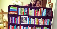 The Perfect Keepsake: Bookshelf Memory Quilt | The Reader's Nook