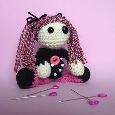 Pink Punk Voodoo Doll