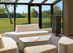 Мягкую мебель Organic Office отлично дополняет акустический модуль SAM - новинка 2016 года. Данный модуль поглощает звук и создает спокойствие.