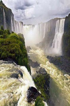 Iguazu Falls, Argentina, Brasil   - Explore the World with Travel Nerd Nici, one Country at a Time. http://TravelNerdNici.com