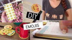 DIY: 5 manualidades con Emojis