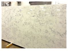 """Calcutta Grey"" quartz counter top from QUARTZ MASTERS, available at Fiorano Tile Showrooms & Country Tile by Fiorano~ Has the look of marble with less of the maintenance, a creamy marble look, comes available in only Kitchen Counters, Kitchen Backsplash, Wildwood Kitchen, Tile Showroom, Long Island Ny, Backsplash Ideas, Quartz Countertops, Counter Top, Powder Room"