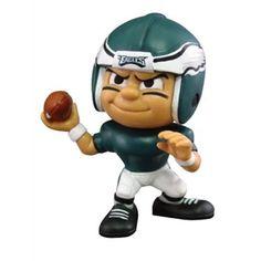 Philadelphia Eagles NFL Lil' Teammates Vinyl Quarterback Sports Figure (2 3/4 Tall)