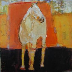 I love this Free and Abstract painting of Equus by New Mexico Artist Dominique Samyn-Werbrouck!! :)