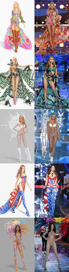 Super Fashion Model Show Victoria Secret Angels Ideas Fashion Looks, New Fashion, Trendy Fashion, Runway Fashion, Fashion Art, Fashion Models, Fashion Clothes, Fashion Tips, Womens Fashion