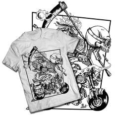 Death Is Late White T-Shirt / JailbreakArts