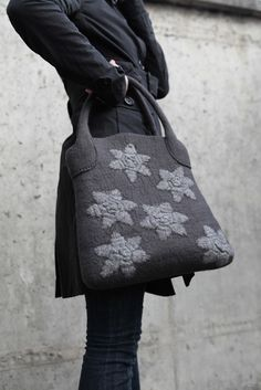 Lovely grey bag