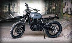 Honda XR600 Scrambler by Ad Hoc #motorcycles #scrambler #motos | caferacerpasion.com