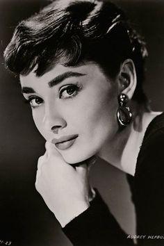 Bud Fraker shot Hepburn for another Sabrina publicity photo. #refinery29 http://www.refinery29.com/2015/06/87205/audrey-hepburn-photos-national-portrait-gallery#slide-4