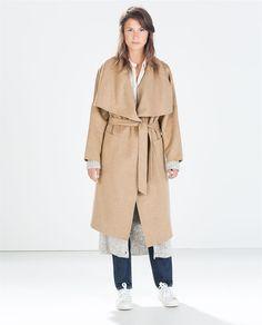 Manteau chic femme zara