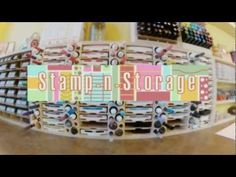 This video provides an overview of the Stamp-n-Storage ink pad holder products. Store and organize your stamp pads of many different varieties in our stamp pad storage units.