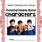Character Study: Following Characters into Meaning - Reader's workshop Version
