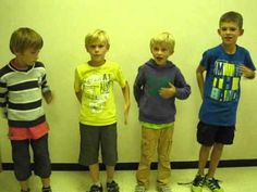 simple body percussion group work >>> Little guys. Music Education Games, Music Activities, Physical Education, Preschool Music, Teaching Music, Body Percussion, Singing Time, Music And Movement, School Videos