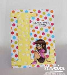 LA&C Blog Hop amistad de escribe con... / Romina Design