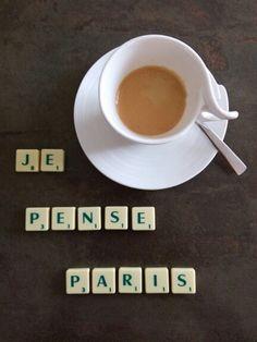 Un café en pensant à Paris