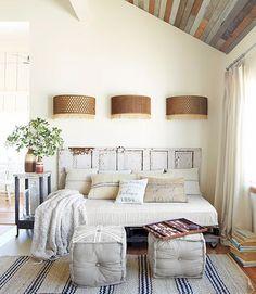 Un cabecero distinto& | Decorar tu casa es facilisimo.com