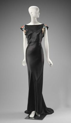 Travis Banton, woman's evening gown, American, 1934.