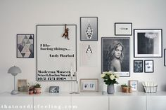 Picture wall + a how to guide (that nordic feeling) Inspiration Wall, Living Room Inspiration, Interior Inspiration, Home Living Room, Living Room Decor, Picture Wall, Photo Wall, Scandinavian Interior, Decoration