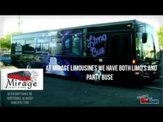 This video shows some of Mirage Limousines' Limos and Party Busses. See our Hummer Limo, our Cadillac limo and more. We serve the state of Arizona, find us at http://www.miragelimo.com/ and at 813 N Scottsdale Rd in Scottsdale, Arizona.
