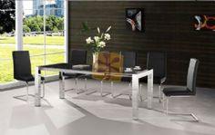 Conjunto de mesa y sillas de comedor en decoratelacasa.com