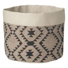 Adobe Linen Basket - hardtofind. $26.95