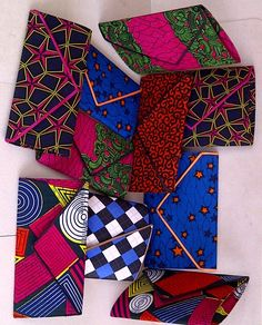 African print purses