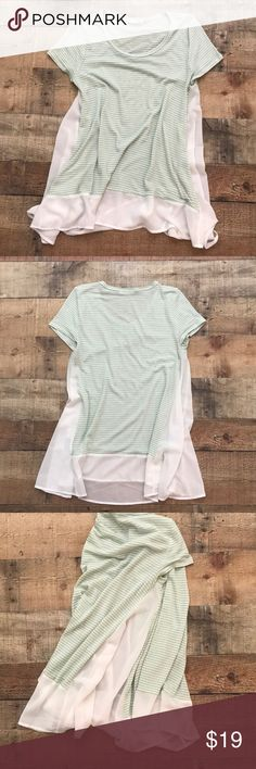 ‼️Final Price Drop‼️ Dottie Couture Boutique Top This cute casual top has only been worn once and although it's a size Small, it runs big. Definitely more of a medium. It's a longer shirt and very soft and comfy. jella c. Tops Blouses