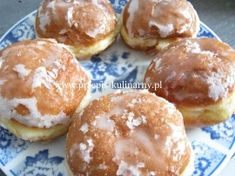 Pączki Ewy Wachowicz Cinnamon Roll Pancakes, Cinnamon Rolls, Apple Pie Bars, Polish Recipes, Recipes From Heaven, Cakes And More, Donuts, Food To Make, Sweet Tooth
