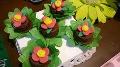Esse Pão de mel fez parte da mesa decorada com o tema Sininho Tinker Bell,  mas pode compor com outros temas relacionados como: jardim,  floresta...