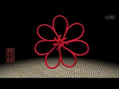 3D中國結 菊花結 - YouTube Jewelry Knots, Spring Art, Macrame, Diy And Crafts, Weaving, Symbols, Letters, Projects, Knots