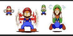 """ mario and luigi superstar saga used to be my favorite game when i was in elementary school i ca. i need to replay this game Super Mario And Luigi, Super Mario Games, Super Mario Art, Super Mario Brothers, Mario Bros., Mario Kart, Mario Funny, Mario Comics, Geeks"