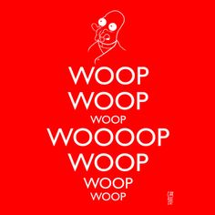 """""""Keep Calm and Woop Woop Woop!"""" Sorry, but I had to do this! Love Zoidberg."""