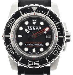 Pre-Owned Tudor Hydro Watch 1200 25000 Sub-Zilla