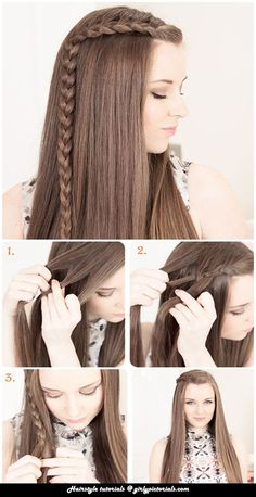 Beautiful Braid Tutorials are very helpful in making your hair more stylish and allure.This Hairstyle is very easy & impressive for girls.This style is casual as well as formal,So try this to look more Beautiful.