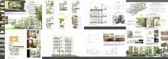 architecture presentation board - ค้นหาด้วย Google