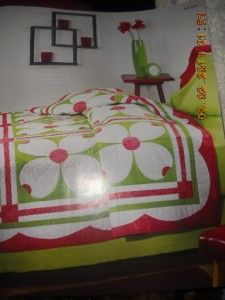 Bucilla Applique Quilt Kit Dogwood Blossoms # 1587 Single Double ... : dogwood quilt pattern - Adamdwight.com