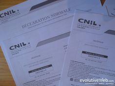 La Commission nationale de l'informatique et des libertés (#CNIL) impose aux entreprises de déclarer les fichiers et les traitements informatiques contenant des données personnelles : http://www.evolutiveweb.com/actualites/articles/declaration-obligatoire-a-la-cnil-pour-son-site-internet-74.html