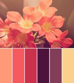 pretty+bridal+shower+color+palettes+on+Showerbelle 600 ×680 pixels