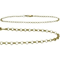 14K Yellow Gold Belcher Style Anklet ** Click on the image for additional details. (This is an Amazon Affiliate link and I receive a commission for the sales)