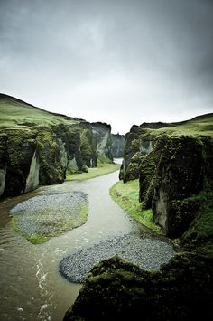 Fjaðrárgljúfur, Iceland.