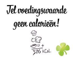 Tel jij calorieën? Ik geloof niet in calorieën tellen http://missnatural.nl/member/