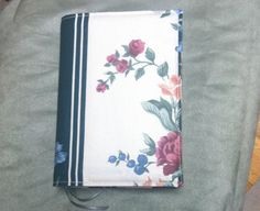 Reduced  Fabric NWT Bible Cover by KingdomCovers on Etsy