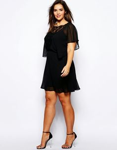 This is our daily fashion women - Business Kleidung Damen Modest Black Dress, Black Dress Outfits, Xl Fashion, Curvy Fashion, Plus Size Fashion, Fashion Online, Glam Dresses, Cute Dresses, Plus Size Dresses