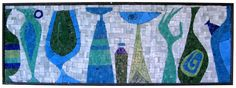 MID-CENTURIA : Art, Design and Decor from the Mid-Century and beyond: Still Life Mosaic Panel