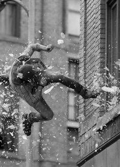 """(RP anyone, powers: yes, I need someone to throw me out) I was thrown across the room, and fell out of the window. Glass cutting my skin, and getting in my mouth. I try to grab the ledge but my hand is cut and I loose my grip. """"Guys help!"""" I yell out."""