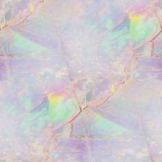 Iridescent opal