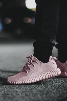 Envy Avenue. — envyavenue:   Pink Yeezy Boost 350