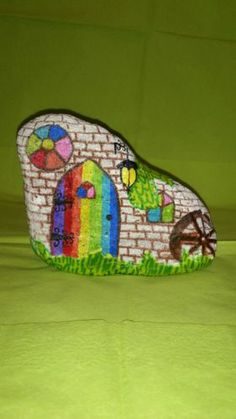 home décor hand painted rock   eBay