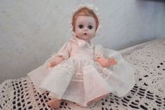 VINTAGE-7-MADAME-ALEXANDER-BABY-GENIUS-DOLL-ORIG-CLOTHES-BLONDE-HAIR-GUC