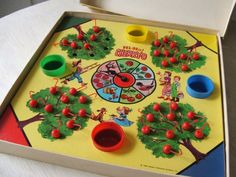 Vintage Hi Ho Cherry O Board Game C. 1960 - Complete Children's Game - Retro Toy